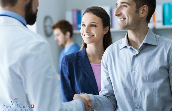 ProCrea: incontro tra medico e coppia