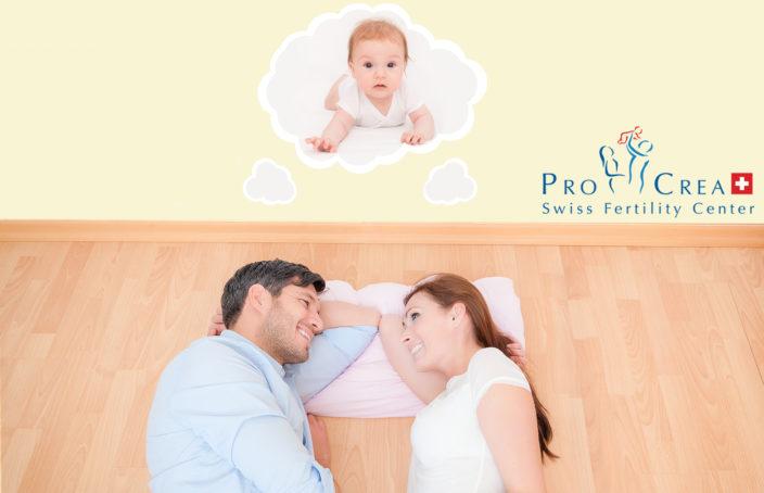 Malattie genetiche: coppia sdraiata immagina un figlio